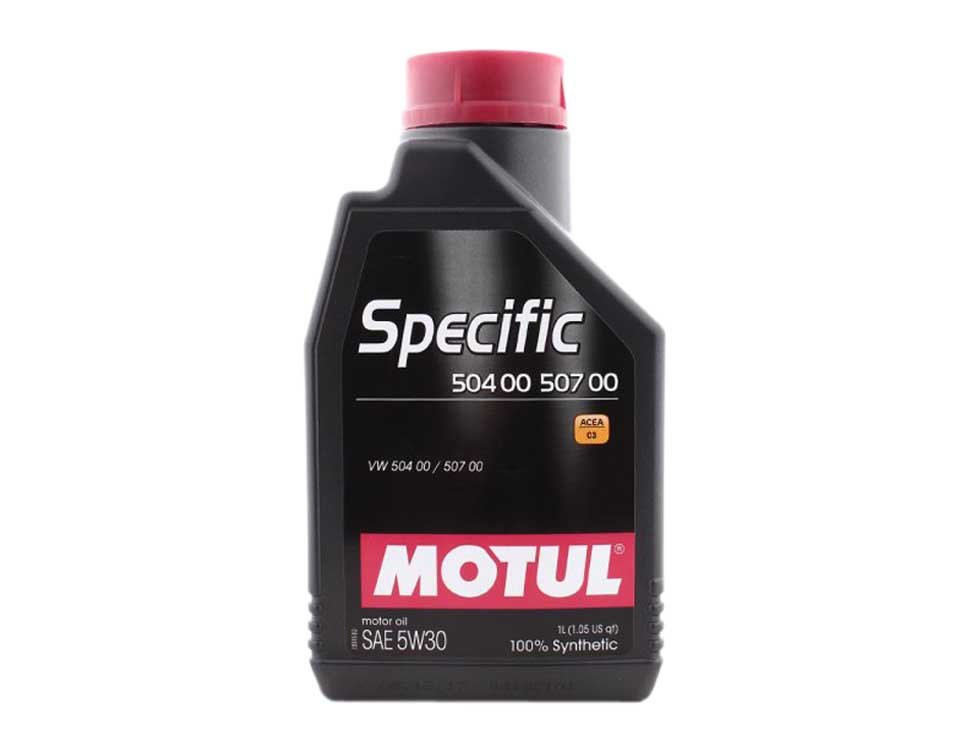 Масло моторное Motul Specific 5W-30 1L (VW504.00/507.00) (106374 )